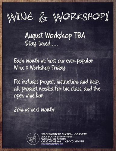 Wine & Workshop