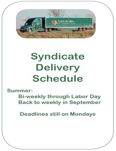 Syndicate Schedule